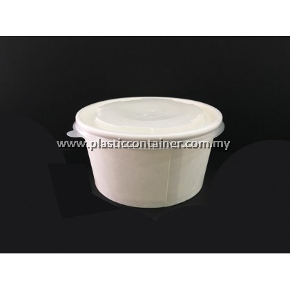 PAPER BOWL 520CC WITH LID